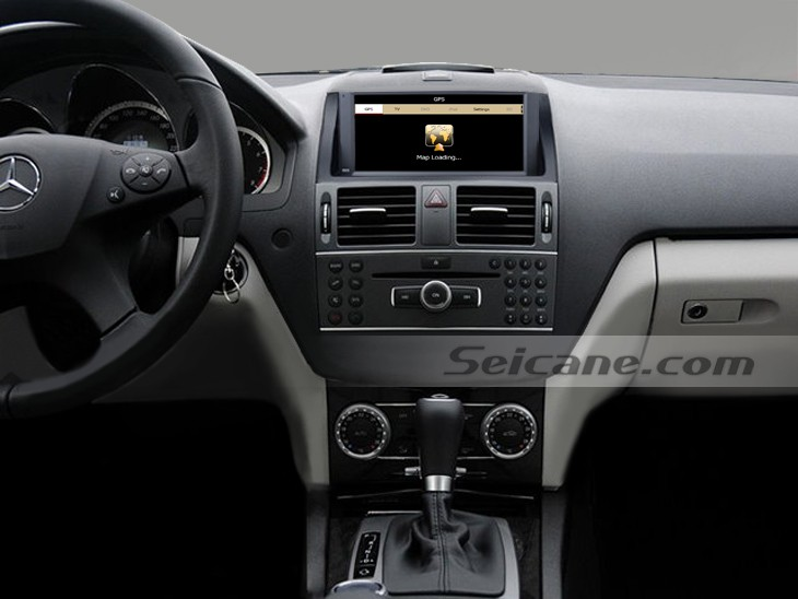 how to connect car mp3 player with mercedes benz w204 2007 2008 2009 2010 2011 car stereo faqs. Black Bedroom Furniture Sets. Home Design Ideas