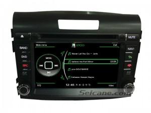 Honda CRV radio GPS system