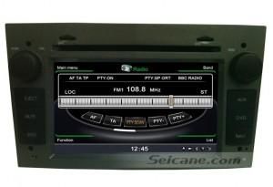 OPEL Antara Navigation System