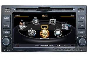 Kia Sorento GPS Bluetooth DVD Player