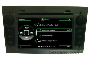 Opel Corsa DVD Radio Player