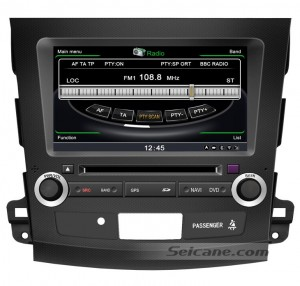 Mitsubishi Outlander GPS navigation DVD player
