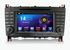 Mercedes-Benz W203 GPS Navigation System