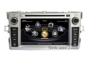 Toyota Verso In Dash Stereo