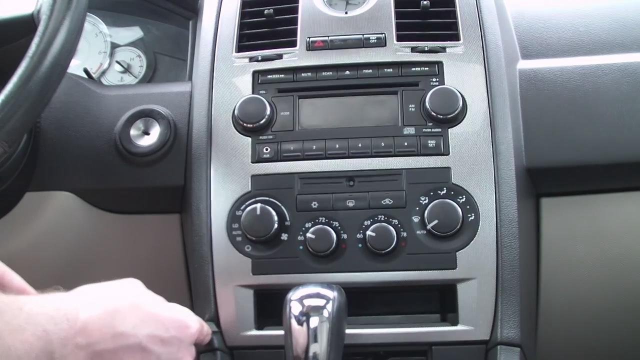 How to Remove 2002-2005 Chrysler 300M CD Player Radio - Car