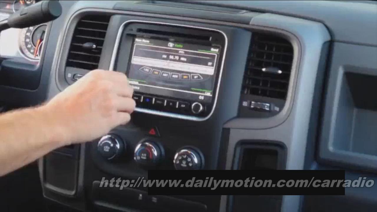 Detailed Steps For 2013 Dodge Ram 1500 Radio Upgrade