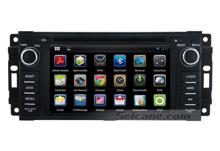 how to operate an android 4 2 2007 2010 jeep wrangler unlimited navigation system car stereo faqs. Black Bedroom Furniture Sets. Home Design Ideas