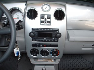 removing radio from a 2002 chrysler pt cruiser 02 05. Black Bedroom Furniture Sets. Home Design Ideas