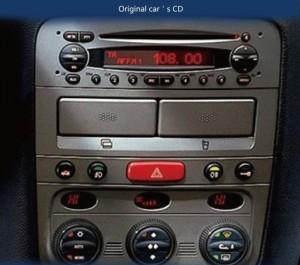 Fiat Panda CD stereo
