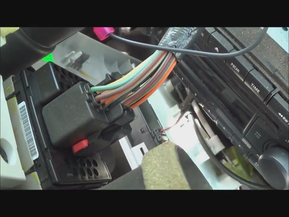 22 how to remove a 2002 2010 chrysler pt cruiser cd player car 2006 pt cruiser stereo wiring harness at soozxer.org
