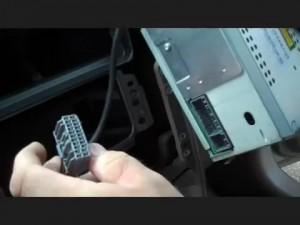 remove the radio on Jeep Compass