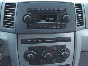 Jeep Grand Cherokee stereo