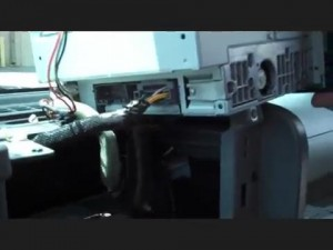 Remove the radio on Jeep Wrangler