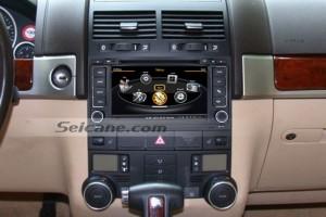 VW Touareg stereo