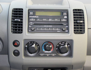 How To Remove A 2001 2011 Nissan Frontier Radio Car