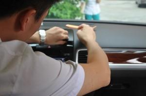 2011-2014 VW TOUAREG radio step 2