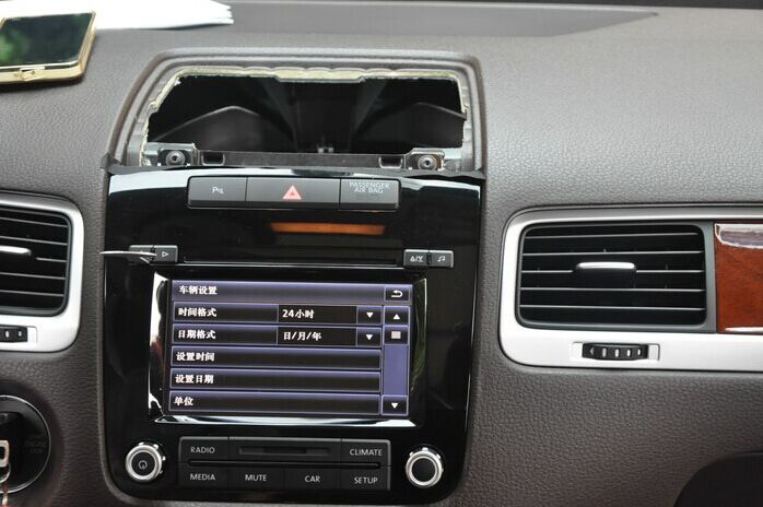 how to upgrade 2011 2012 2013 2014 vw touareg radio car. Black Bedroom Furniture Sets. Home Design Ideas
