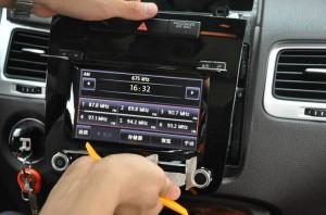 2011-2014 VW TOUAREG radio step 5