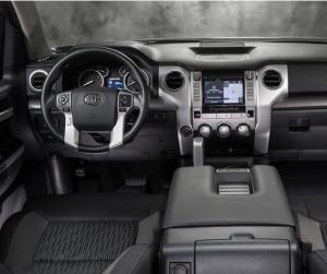2014 Toyota Tundra dashboard