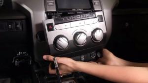 2014 Toyota Tundra radio upgrade step 3