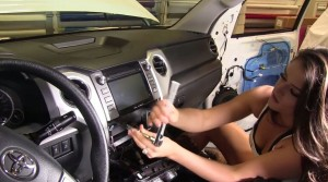 2014 Toyota Tundra radio upgrade step 5