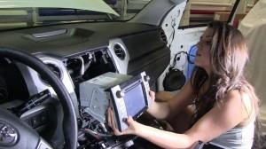 2014 Toyota Tundra radio upgrade step 6