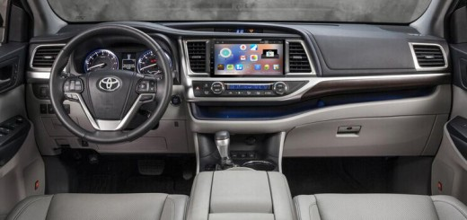 2015 Toyota Highlander Radio after installation