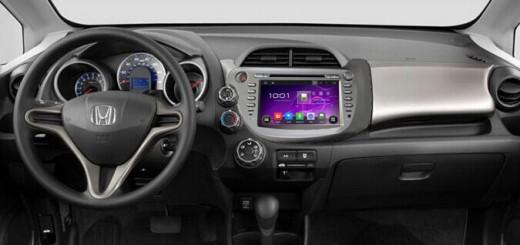 2009-2011 Honda FIT Radio after installation