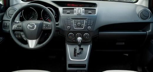 2009-2012 Mazda 5 dashboard