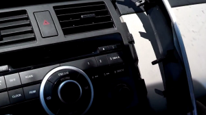 2012-2013 Mazda CX-9 Radio installation step 1