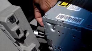 2012-2013 Mazda CX-9 Radio installation step 8