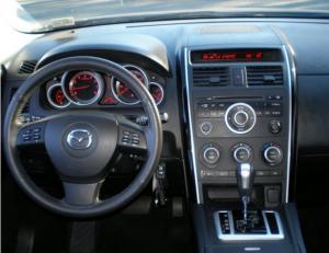 2012-2013 Mazda CX-9 dashboard