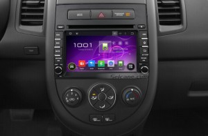 2012-2014 KIA SOUL Radio after installation