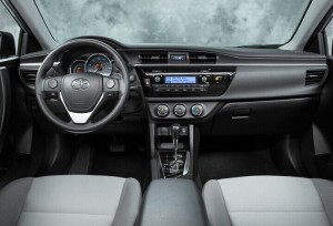 2014 Toyota Corolla Left dashboard