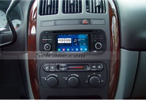 1999 2000 2001 Jeep Grand Cherokee car stereo after installation