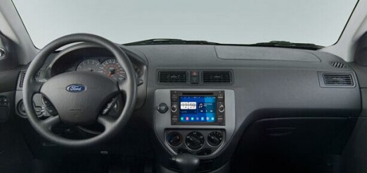 2004-2008 Ford focus Radio after installation