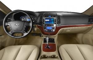2008-2011 Hyundai Santa Fe Radio after installation