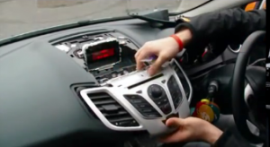 2008-2013 Ford Fiesta Radio installation step 4