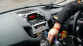 2008-2013-Ford-Fiesta-Radio-installation-step-5 Ford Radio Wiring Diagram On Stereo on