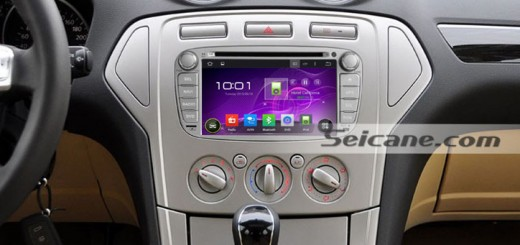 2010 Ford Tourneo Connect Radio after installation