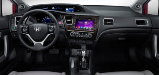 2014 Honda Civic Sedan Radio after installation