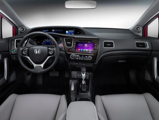 2017 Honda Civic Sedan Radio After Installation