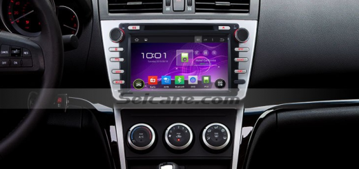 2008-2012 Mazda6 Ruiyi Radio after installation