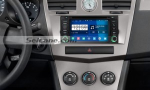 2011 2012 2013 Jeep Grand Cherokee car stereo after installation