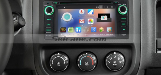 2007-2010 Chrysler Sebring Radio after installation