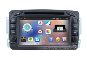 998-2004 Mercedes-Benz CLK W209 head unit