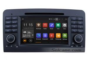 2005-2012 Mercedes-Benz ML CLASS W164 head unit