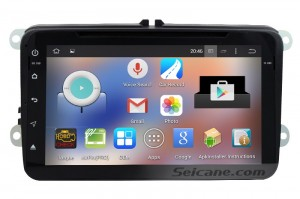 How to use Mirror link to connect a phone with 2008-2013 VW Passat Tiguan Polo Scirocco car stereo