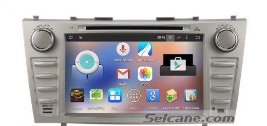 2007-2011 Toyota Camry car stereo