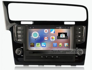 2013 New Golf 7 car stereo